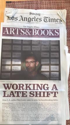 in the LA Times