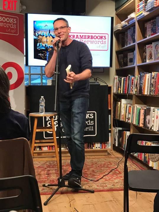 at Kramerbooks in Washington, DC