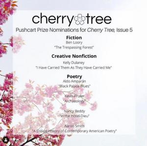 Cherry Tree Pushcart Nominations