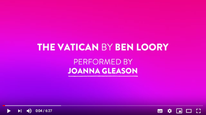 The Vatican performed by Joanna Gleason